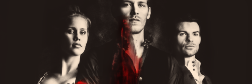 Rebecca, Klaus e Elijah