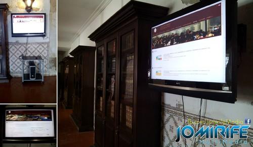 Aplicação para rodar por páginas páginas web exibidas num plasma [en] Application to rotate web pages to be displayed on a plasma tv