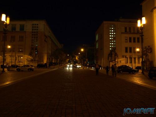 Rua Larga de Coimbra à noite