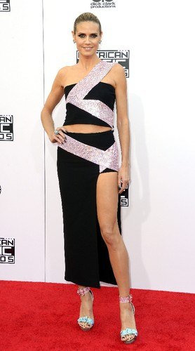 A modelo Heidi Klum