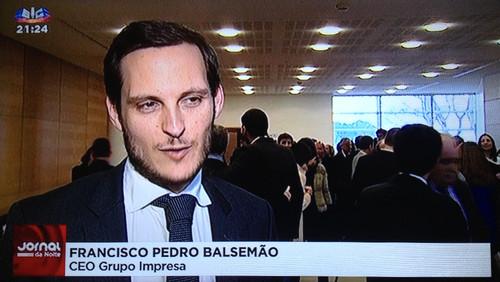 Francisco Pedro Balsemão em entrevista