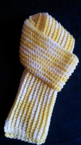 cachecol ribbed infantil matizado branco amarelo1.