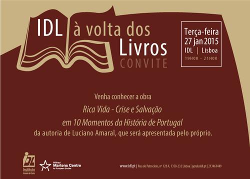 CONVITE_À volta dos livros no IDL com Luciano Ama