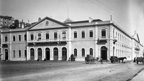 Estação de Santa Apolónia, 1865