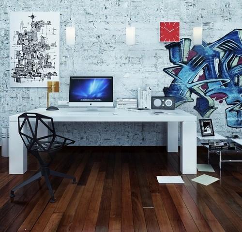 Fabulous-Futuristic-Pop-Art-Style-office-interior-