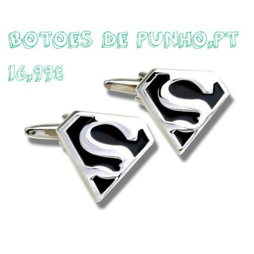 Botões de Punho Super Homem - botoesdepunho.pt