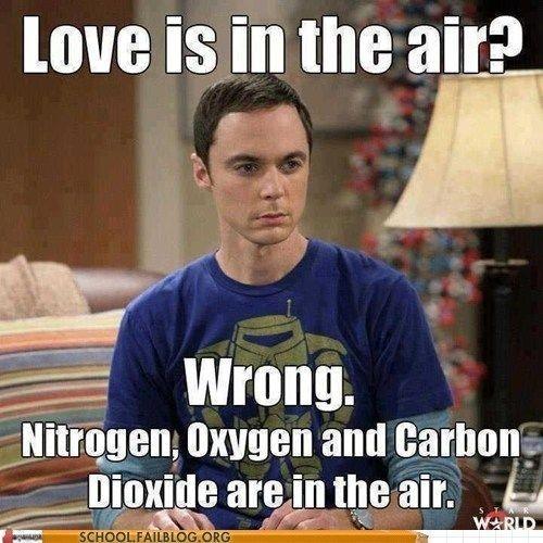 Sheldon about love - Big Bang Theory