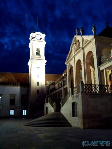 Torre da Universidade de Coimbra à noite