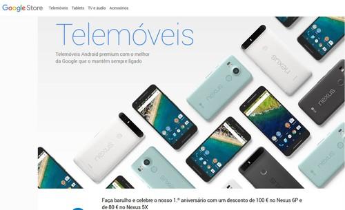 Telemóveis-Nexus-Telemóveis-Android-Google-Store