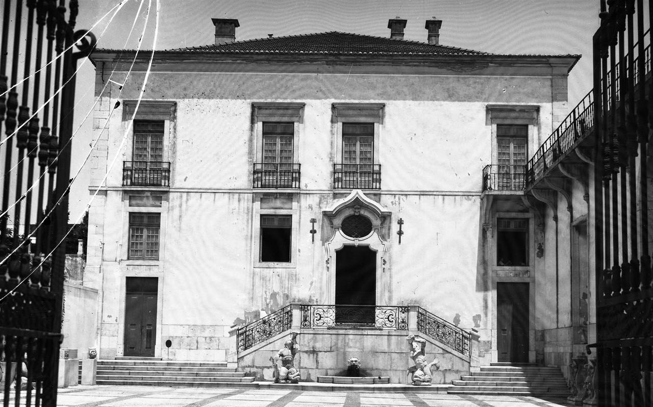 Palácio da Mitra, pátio da entrada, foto de Edua