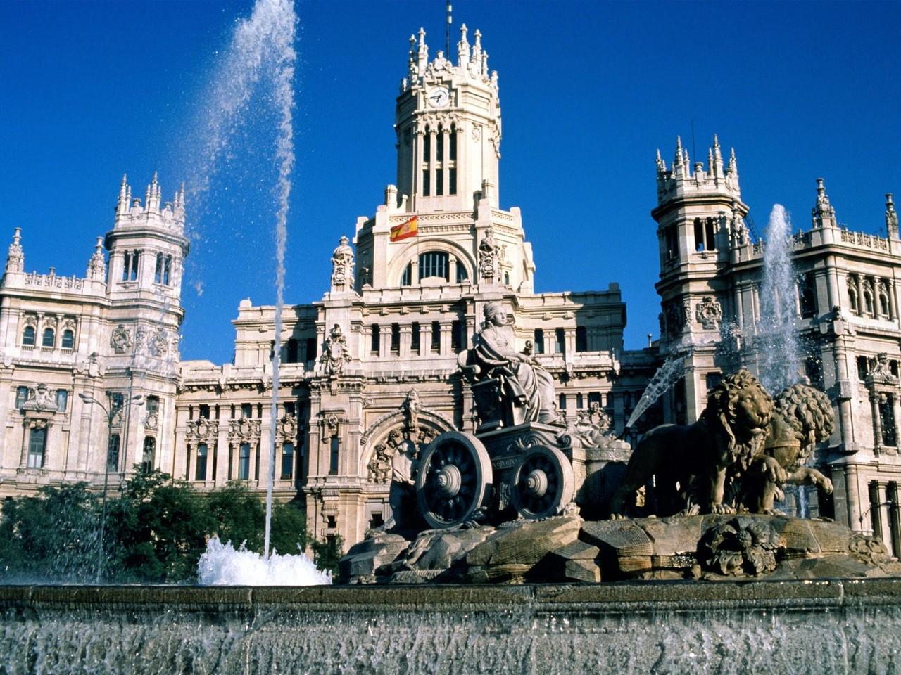 Praça Cibeles, Madrid