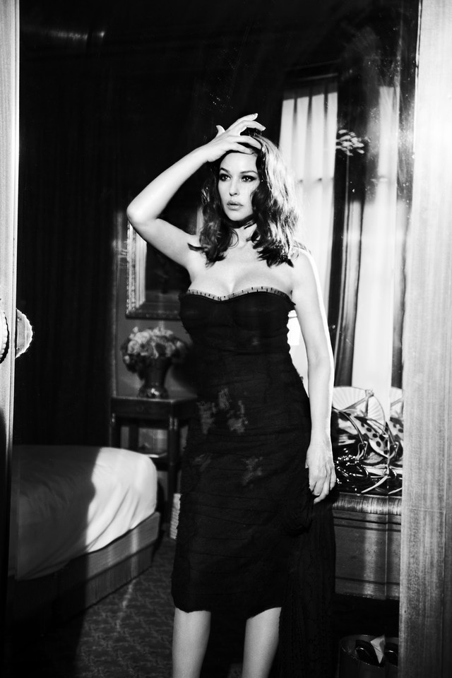 Monica Bellucci, Glamour Italia, April 2012, by El