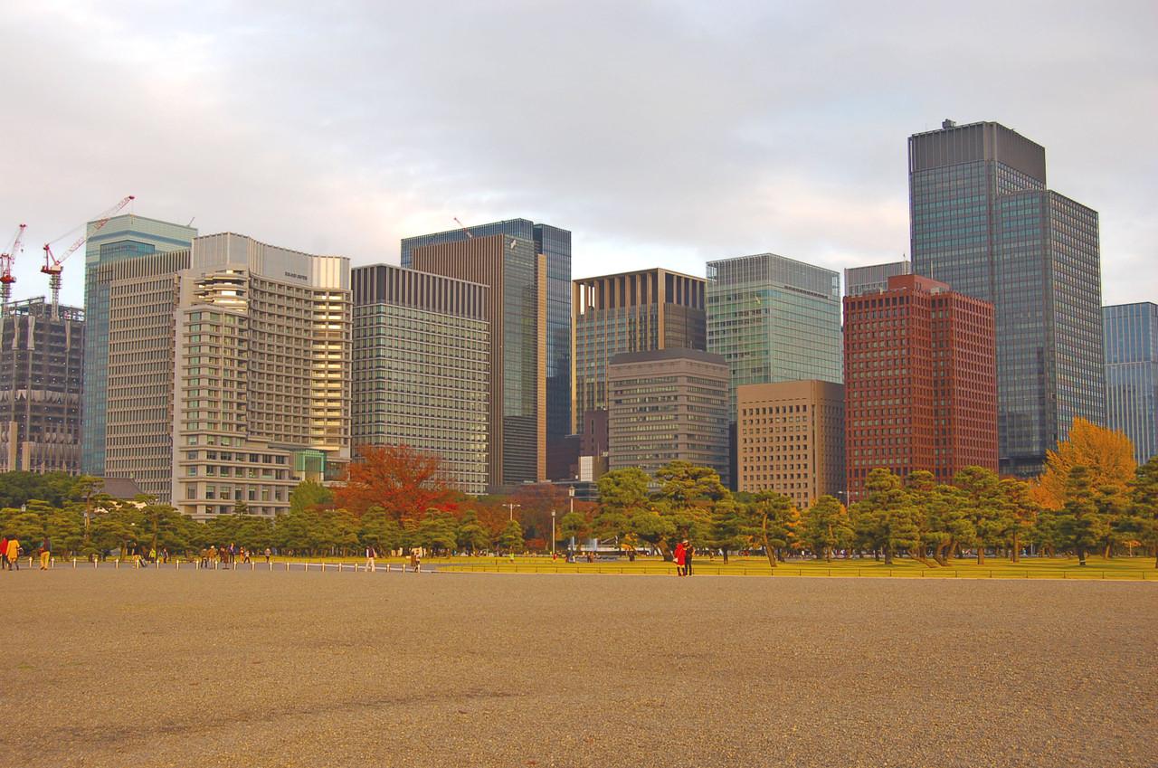 Zona central de Tóquio