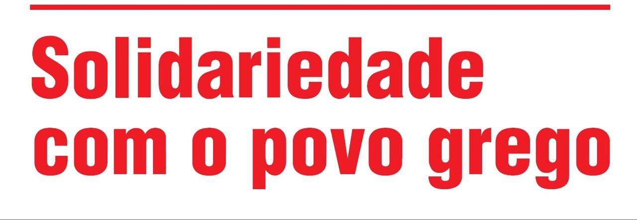 Solidariedade Grécia