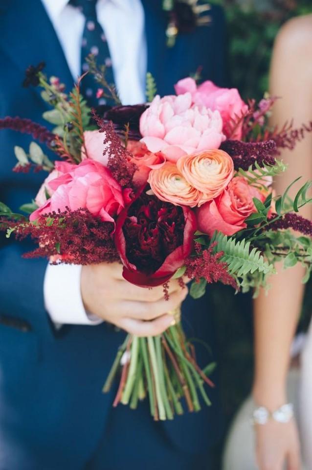 dramatic-fall-wedding-bouquet-of-peonies-ranunculu