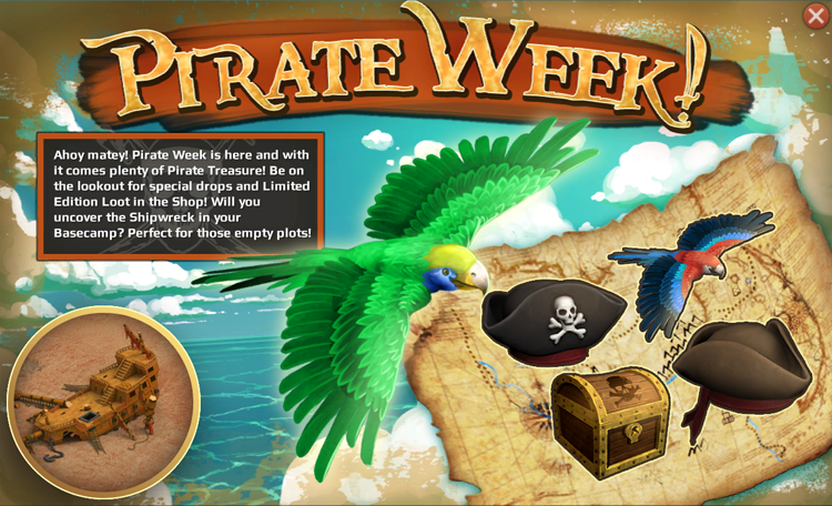 Carbon Games Pirate Week