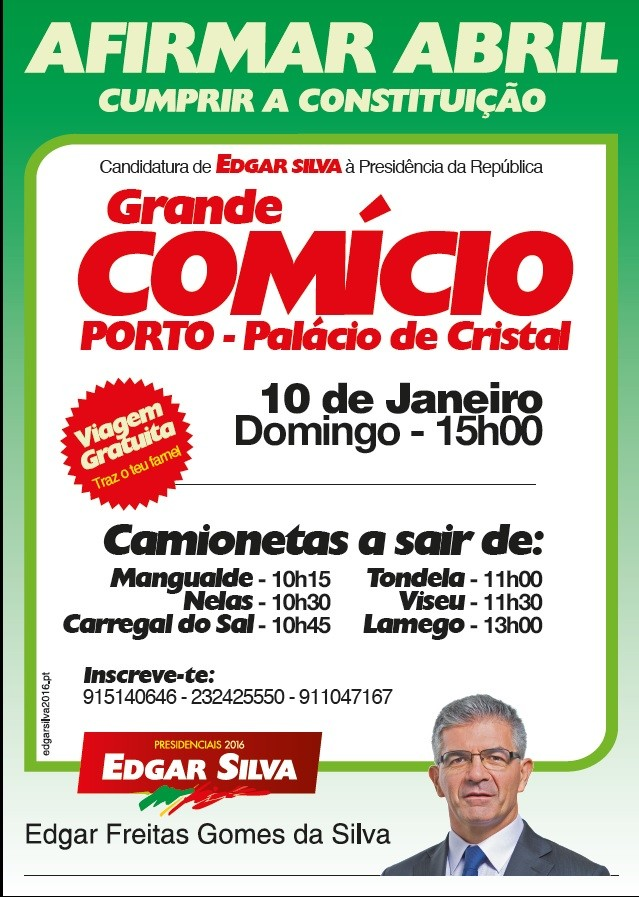Comício Porto 2016-01-10