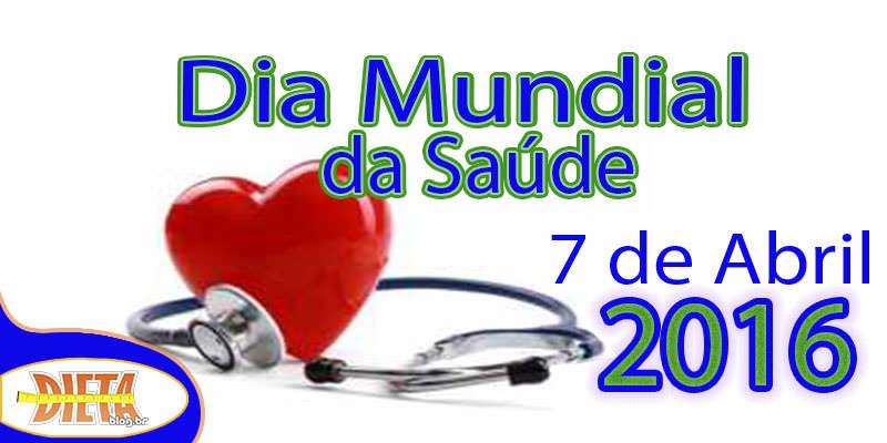 Dia mundial da saude verde dieta logo_mini_mini_mi