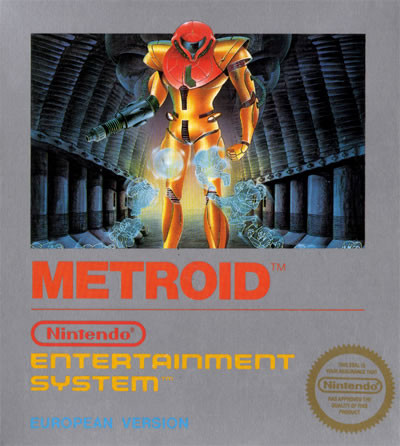 Metroid - capa europeia