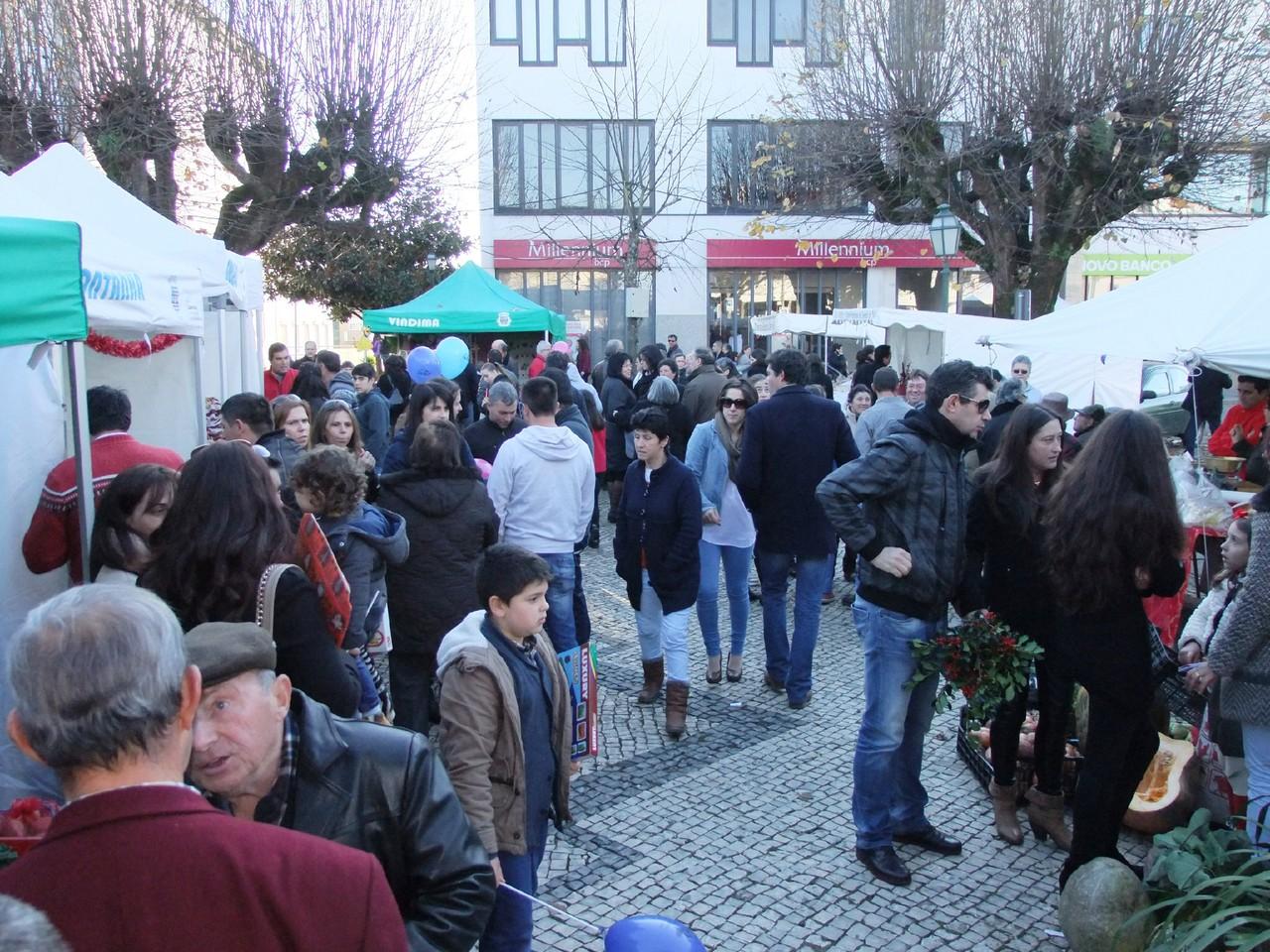 Muita gente na Feira Agricola de Natal .JPG