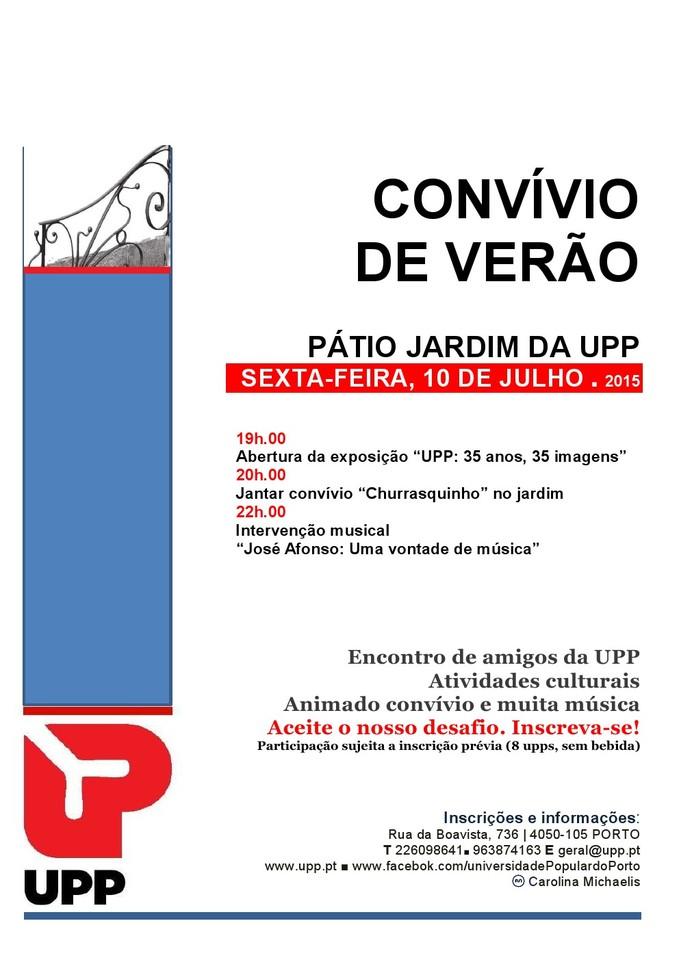 UPP Conv Verão 2015