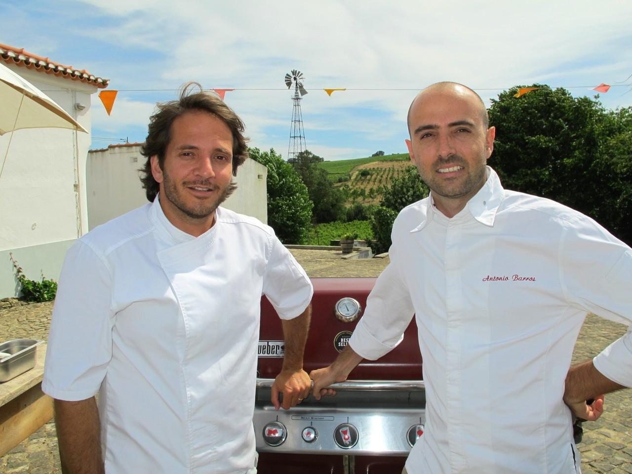 Kiko Martins e António Barros