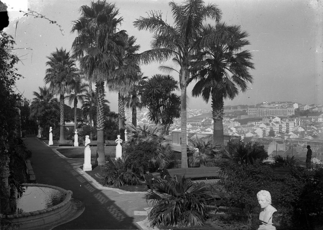 Jardim de São Pedro de Alcântara, foto de José