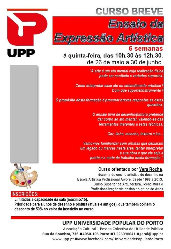 UPP Ensaio expressão artística