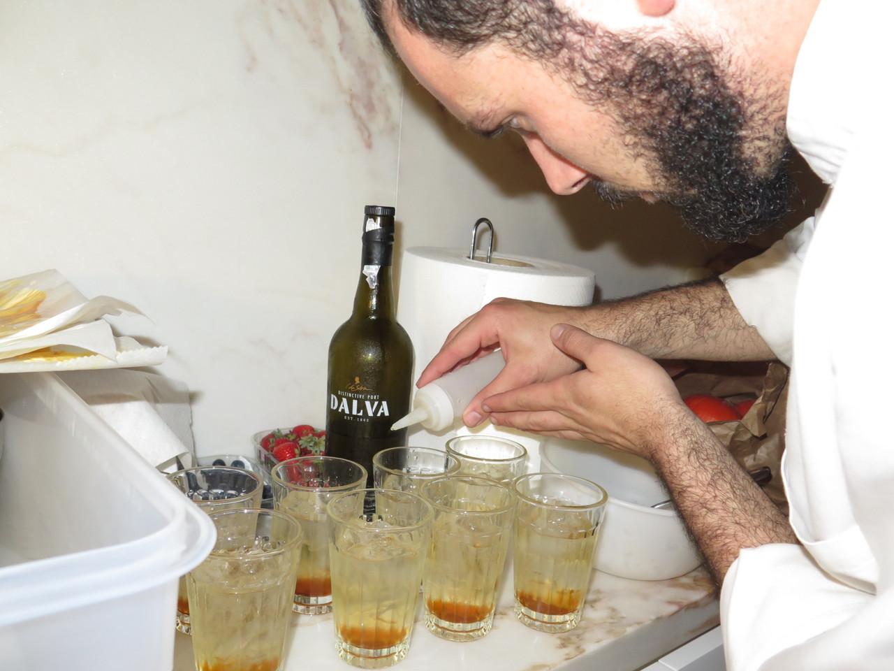 Dalva Dry White Porto, mel e… vinagre de algas