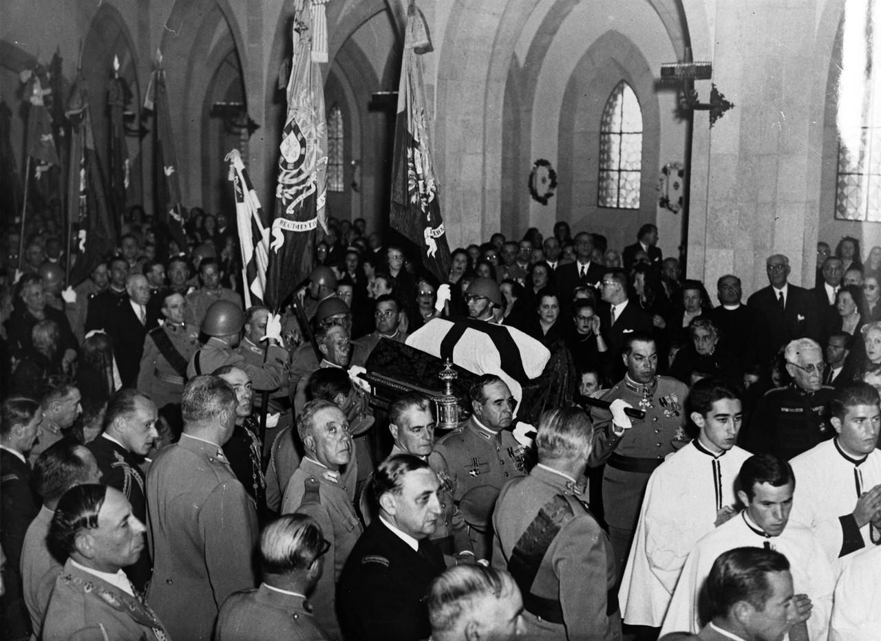 Inauguração da igreja do Santo Condestável, tra