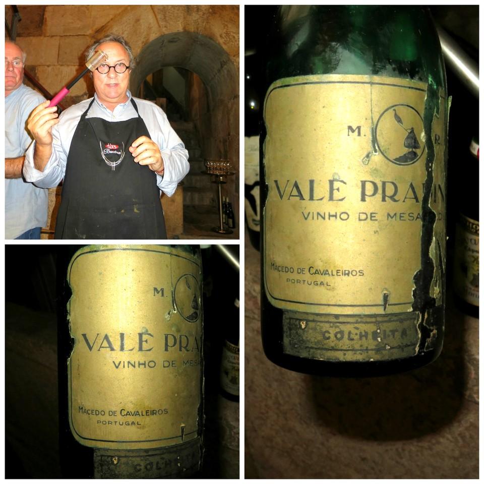 João Paulo Martins, os apetrechos dos apreciadores de vinhos velhos e o Vale Pradinhos branco de 1966