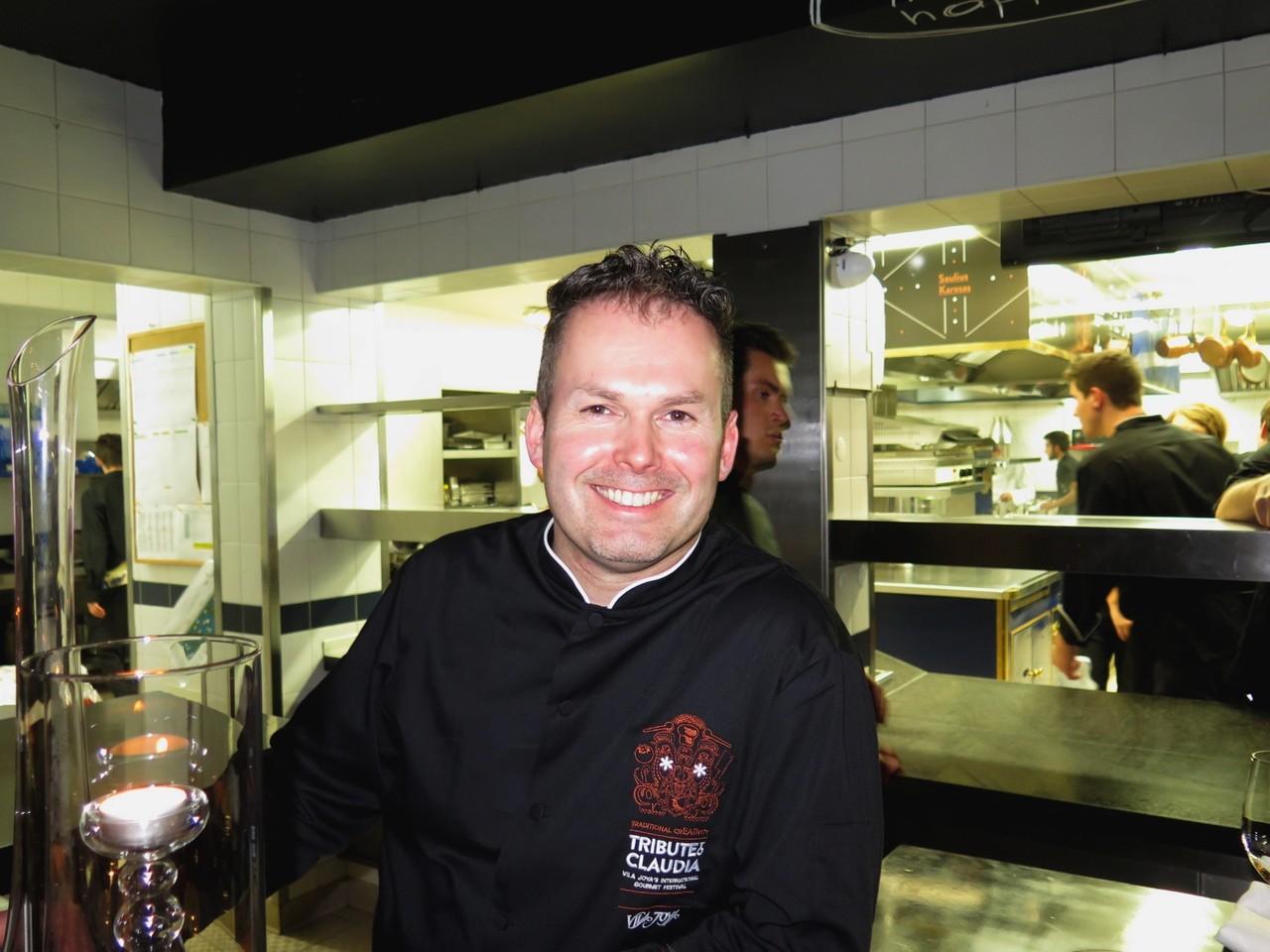 Jens Rittmeyer na Mesa do Chef