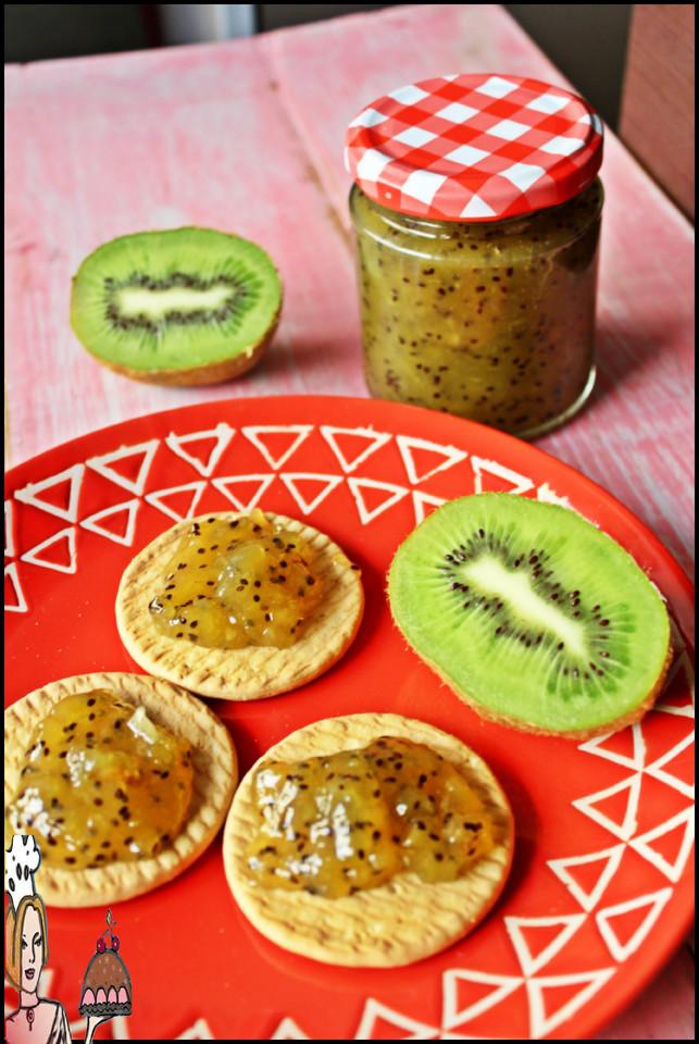 Receita de compota de kiwi