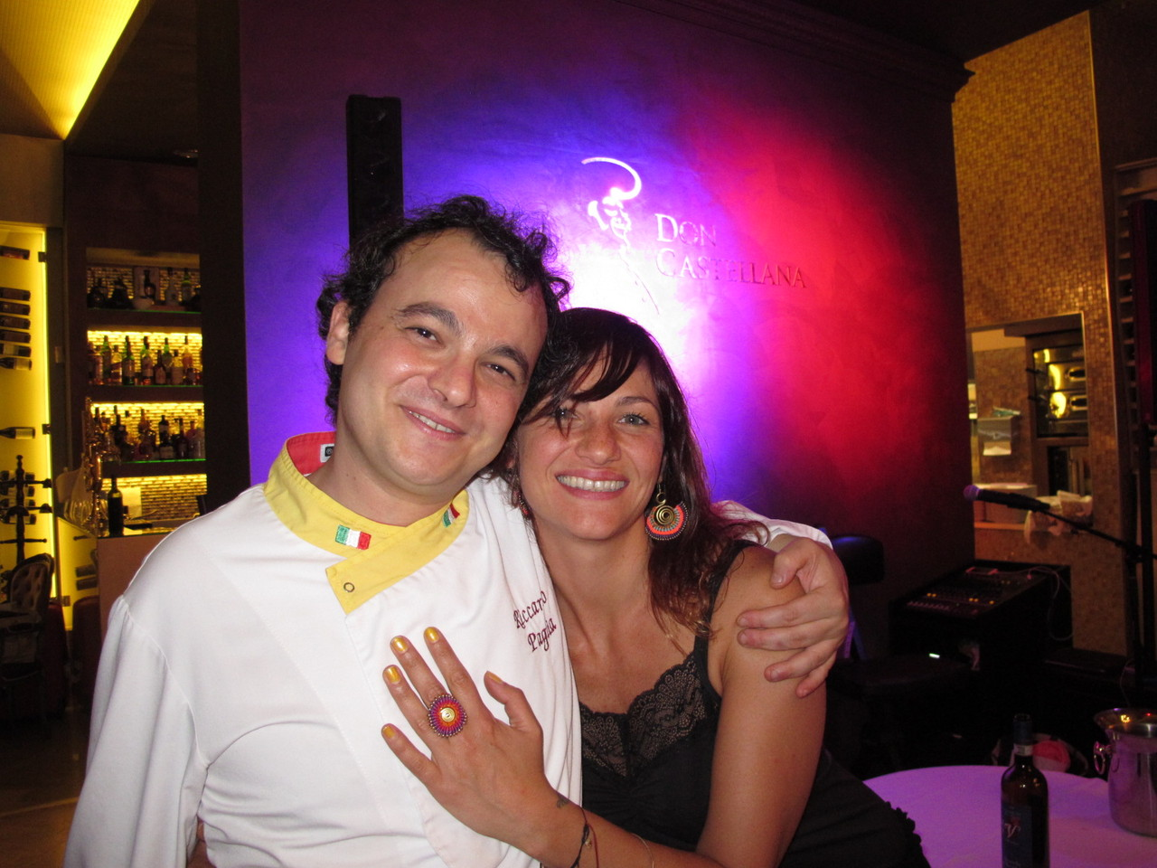 Riccardo Paglia e Cecilia Cantini