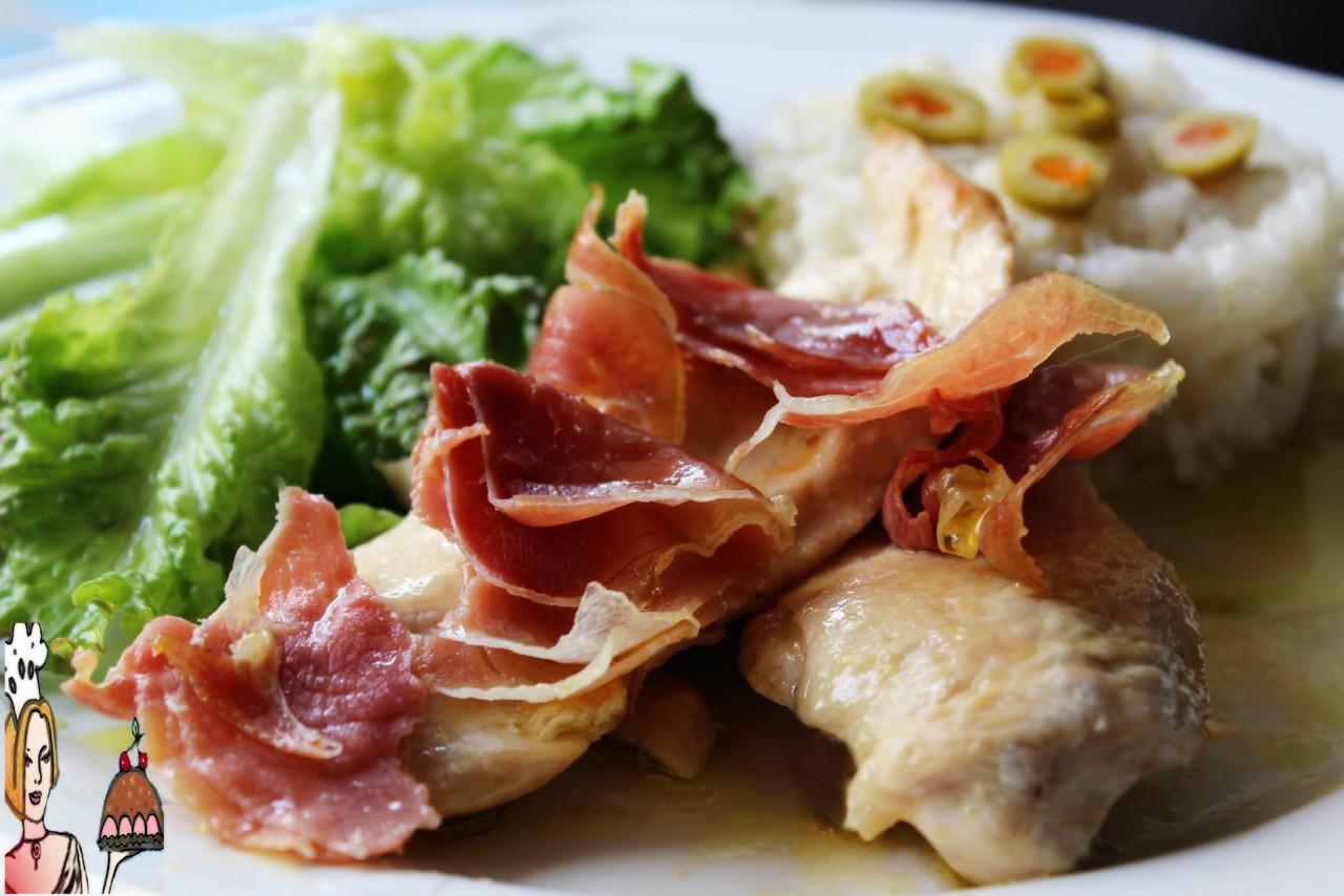 bifes de frango à italiana