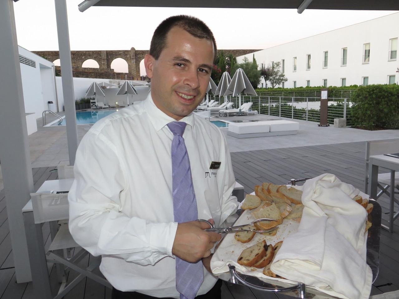 João Silva e os pães