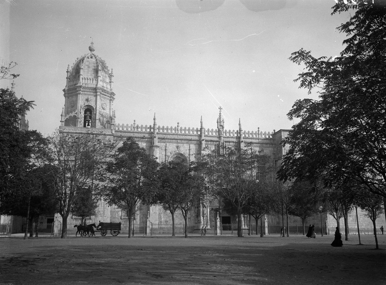 Mosteiro dos Jerónimos início séc. XX. José Ch