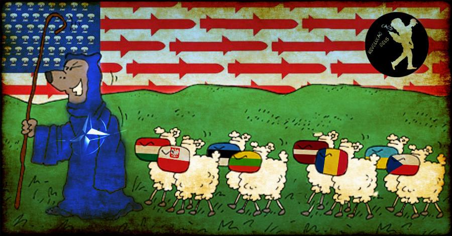 Europa de leste, da URSS aos EUA, a vassalo-depend