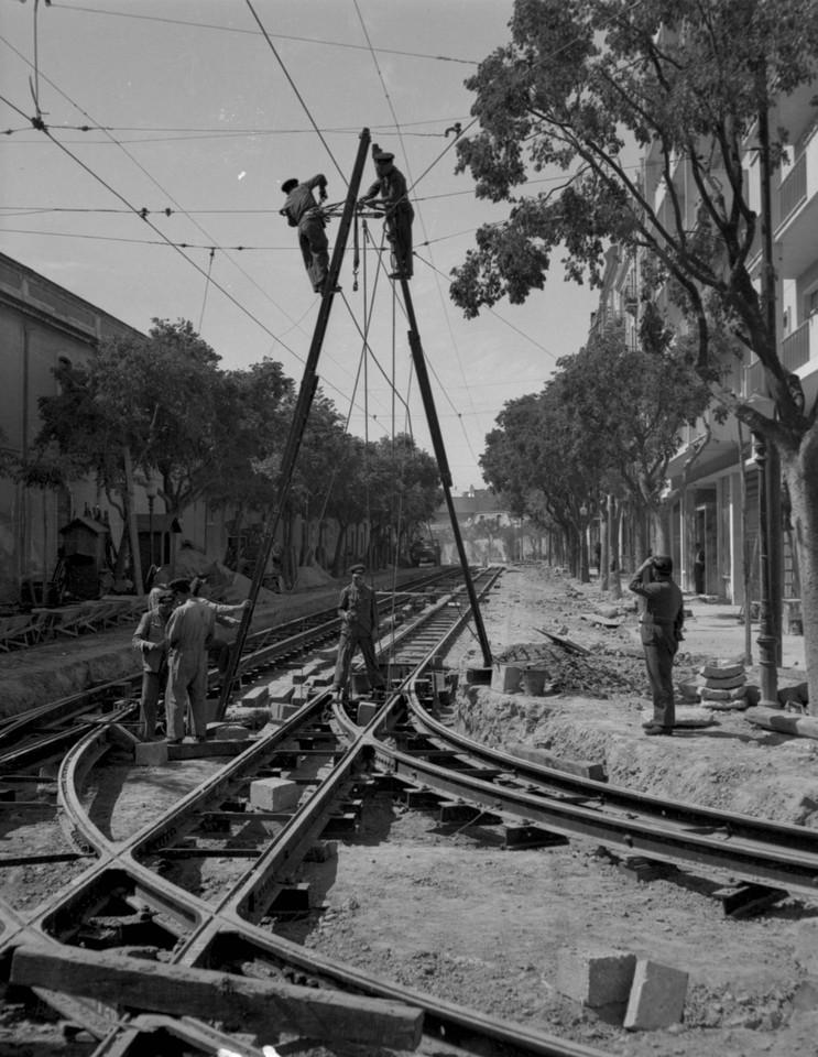 Obras da Companhia Carris de Ferro de Lisboa, colo