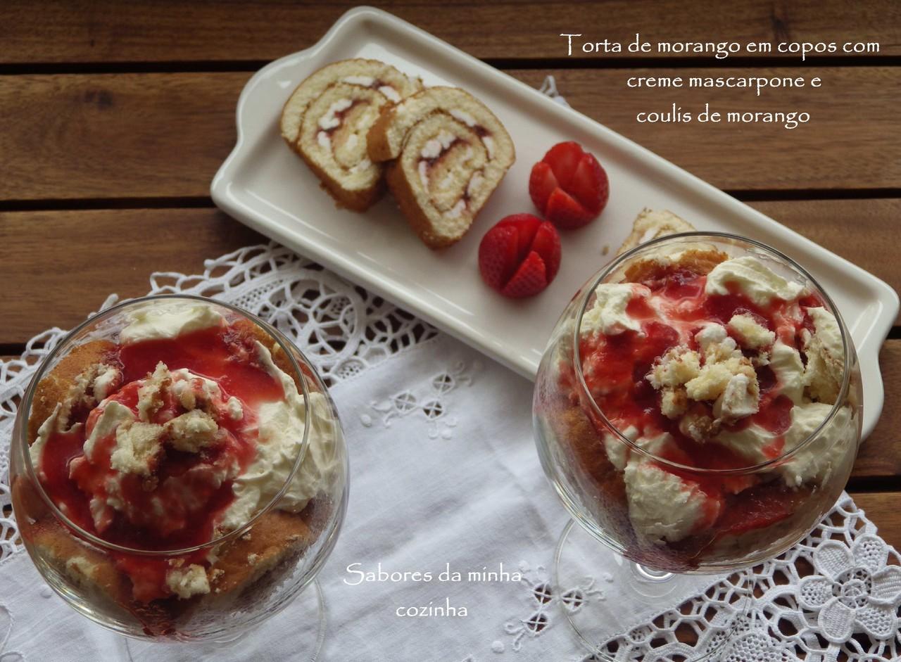IMGP4314-Torta de morango em copos com creme masca