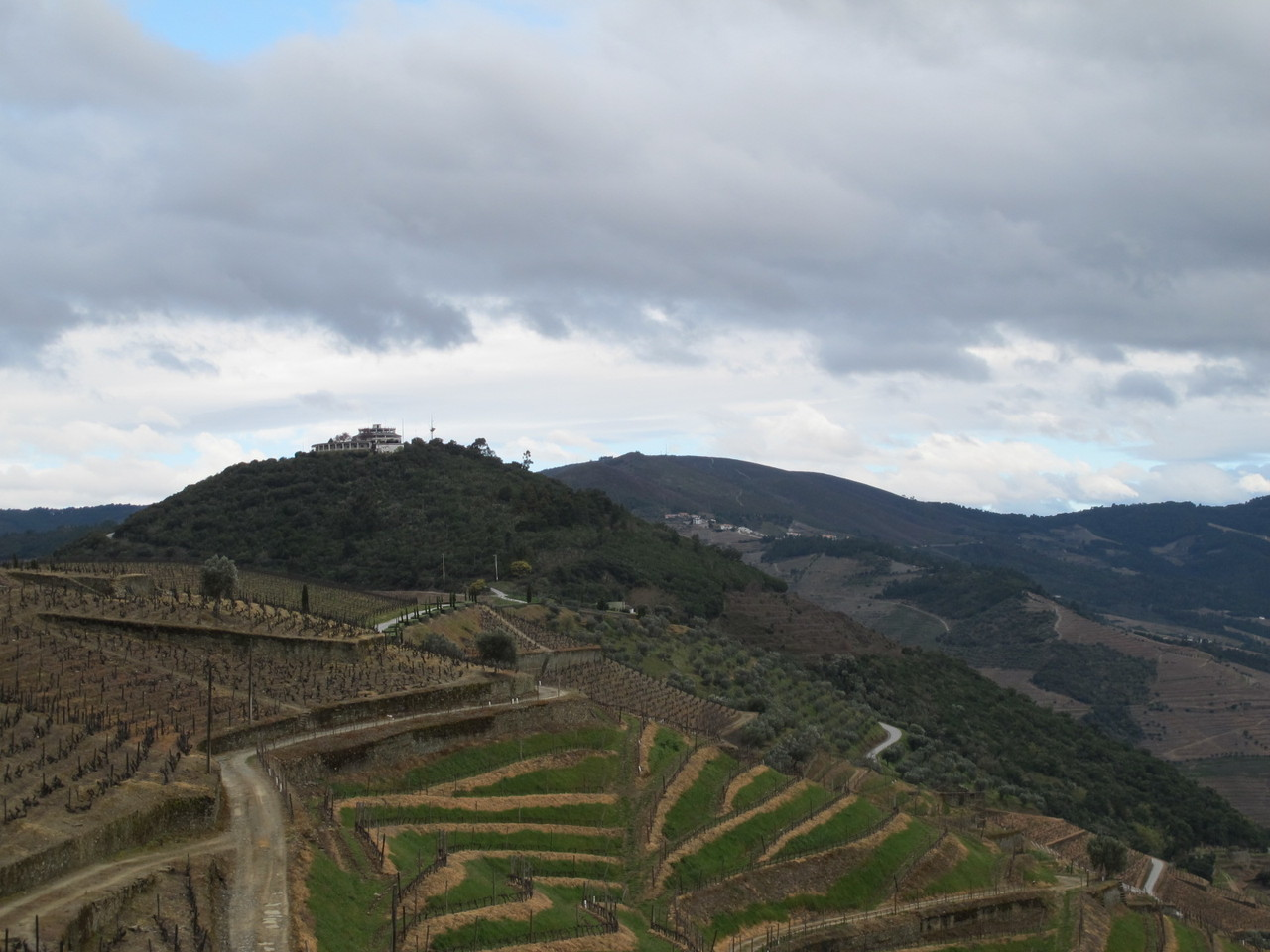 Lá no topo, a Casa Redonda