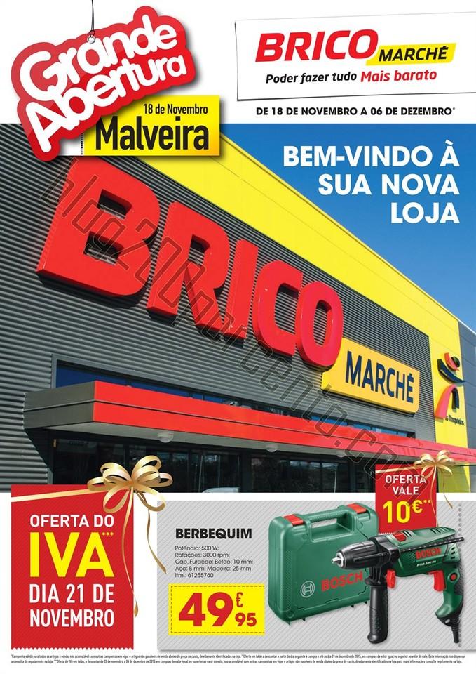 Antevisão Folheto BRICOMARCHÉ Abertura de 18 nov