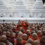Encontro de monges budistas
