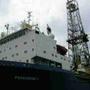 Navio em Arraial do Cabo