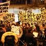 Manifestação contra vitória Trump, Chicago