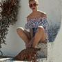 Woman Press Fashion_09_Pink Floral Short Dress_089