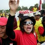 Indonesia Mudflow Victims Rally