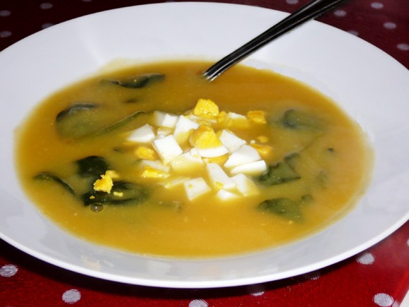 sopa de grao e espinafres.JPG