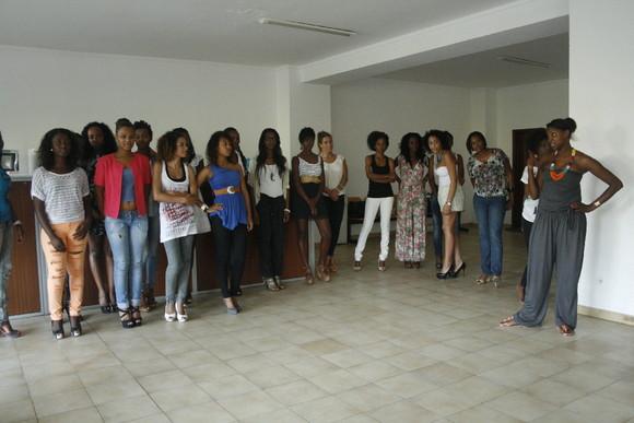 Ensaio para a Miss CPLP