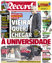 CR7 e a fraude fiscal fizeram capa na imprensa